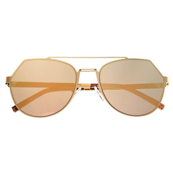 Bertha Hadley Sunglasses - Gold/Rose Gold BRSBR021G