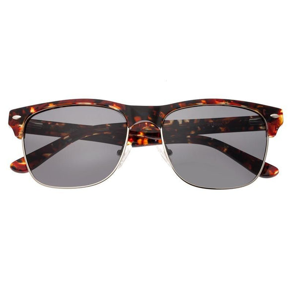 Sixty One Waipio Polarized Sunglasses - Dark Brown Tortoise/Black SIXS136BK