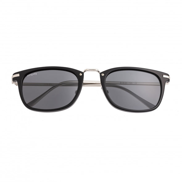 Simplify Theyer Polarized Sunglasses - Black/Black SSU118-BK