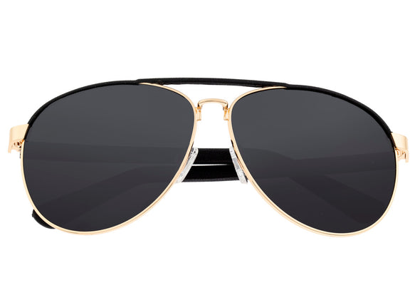Sixty One Wreck Polarized Sunglasses - Gold/Black SIXS107GD