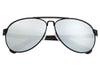 Sixty One Wreck Polarized Sunglasses - Black/Silver SIXS107BK