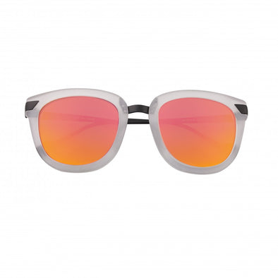 Bertha Jenna Polarized Sunglasses - Clear/Pink-Orange BRSBR029MN