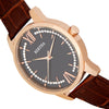 Bertha Prudence Leather-Band Watch - Brown BTHBS1404