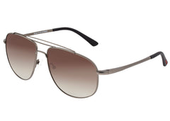 Breed Asteroid Titanium Polarized Sunglasses - Gunmetal/Brown BSG052GM
