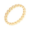 Similar product : Bertha Juliet Women's 18k Yellow Gold Plated Stackable Eternity Fashion Ring