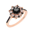 Similar product : Bertha Juliet Women's 18k Rose Gold Plated Black Flower Fashion Ring