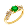 Similar product : Bertha Juliet Women's 18k Yellow Gold Plated Green Cluster Fashion Ring