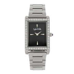 Sophie and Freda Wilmington Bracelet Watch w/Swarovski Crystals - Silver  SAFSF5601