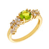 Similar product : Bertha Juliet Women's 18k Yellow Gold Plated Light Green Cluster Fashion Ring