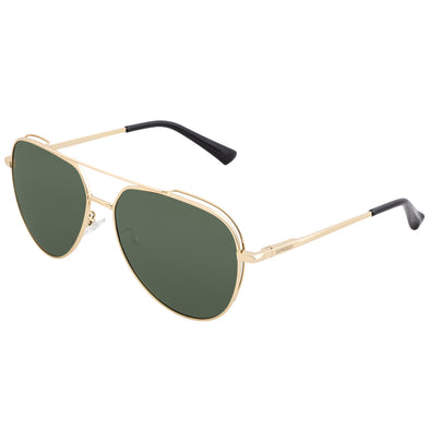 Breed Lyra Polarized Sunglasses - Gold/Black BSG061GD