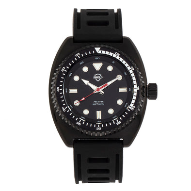 Shield Dreyer Men's Diver Strap Watch - Black SLDSH107-6
