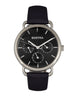 Similar product : Bertha Gwen Leather-Band Watch w/Day/Date - Black