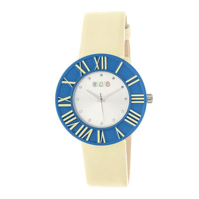 Crayo Prestige Unisex Watch - Blue/Yellow CRACR3106