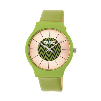 Crayo Trinity Strap Watch - Green CRACR4403