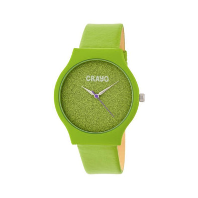 Crayo Glitter Strap Watch - Green CRACR4503