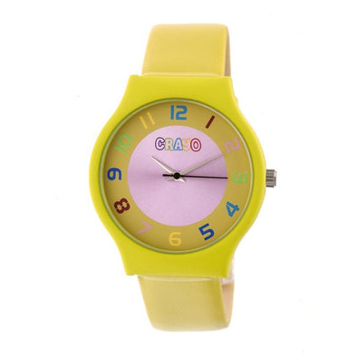 Crayo Jubilee Strap Watch - Yellow CRACR4604