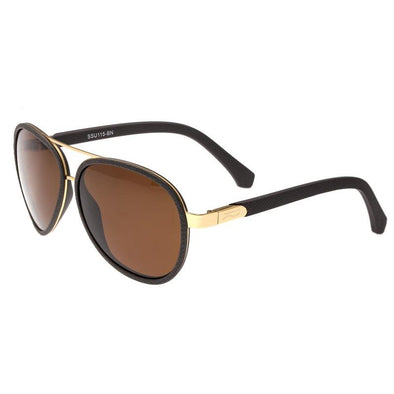 Simplify Stanford Polarized Sunglasses - Gold/Brown SSU115-BN