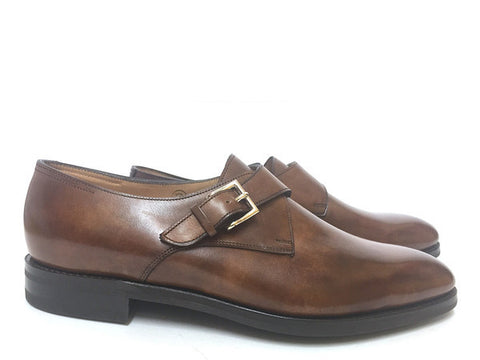 Ashill in Chestnut Misty Calf - 12E (Medium)