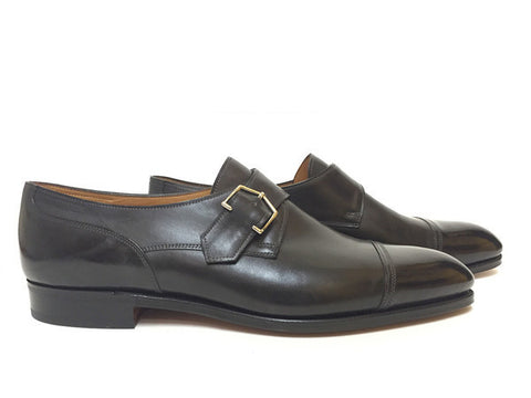 Brentwood in Black Museum Calf - 2511
