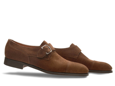 Brentwood in Parisian Brown Suede - 2511