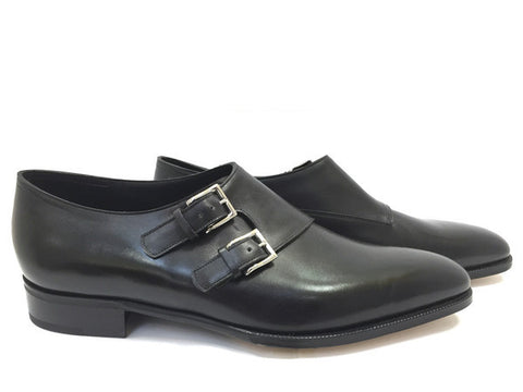 Chapel in Black Museum Calf - Size 11.5E (Medium)