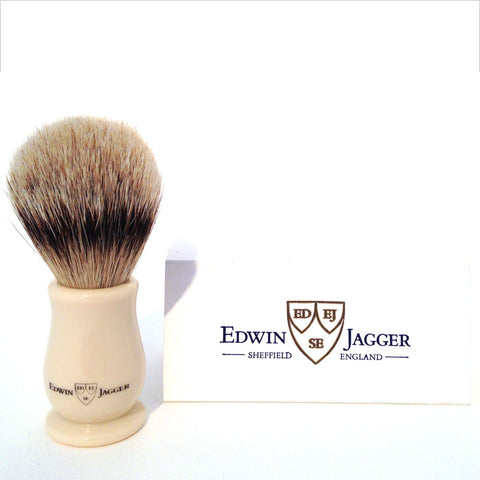 Edwin Jagger Chatsworth Style Ivory Shaving Brush