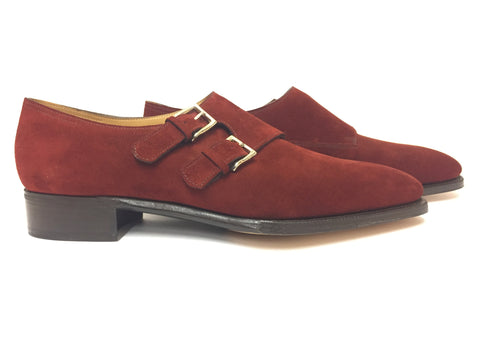 Chapel in Red Suede - Size 7.5E