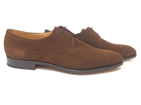 Chelmsford in Parisian brown Suede - 10.5E