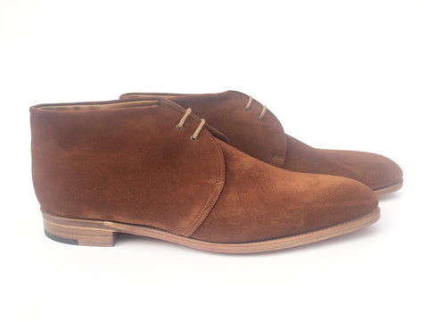 Loxton in Tobacco Suede - E (Medium)