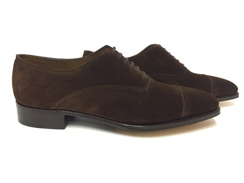 St Crépin - Year Model 2011 - Dark Brown Suede - 8000