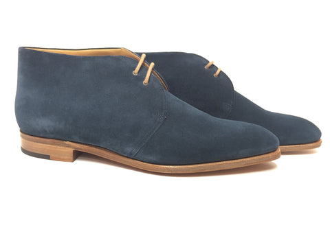 Loxton in Blue Suede