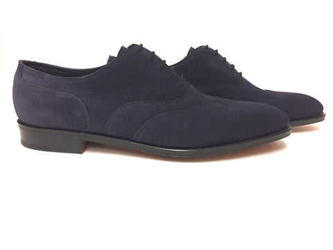 Heath in Indigo Suede - 7000
