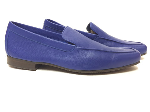 Riviera - Casual Loafer in Royal Blue Sport Calf