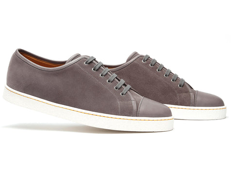 Levah in Dark Iron Suede - 1st Choice