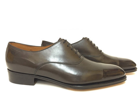 St Crépin 2006 in Deep Grey Lord Calf - Size 10EE (Wide)