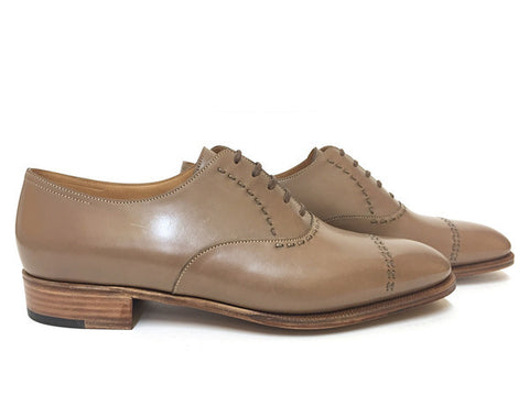 St Crépin 2008 in Mink Oxford Calf - Size 12E (Medium)