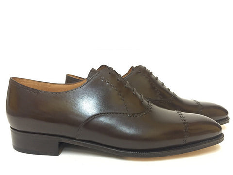 St Crépin 2008 in Dark Brown Oxford Calf - 7000