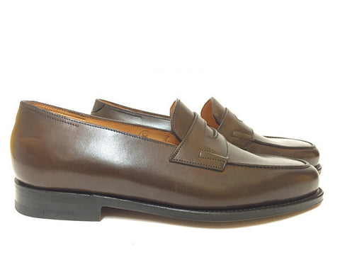 Lopez in Dark Oak Calf - Size 7E (Medium)