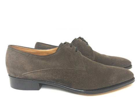 Luffield in Pewter Suede - Size 10E (Medium)