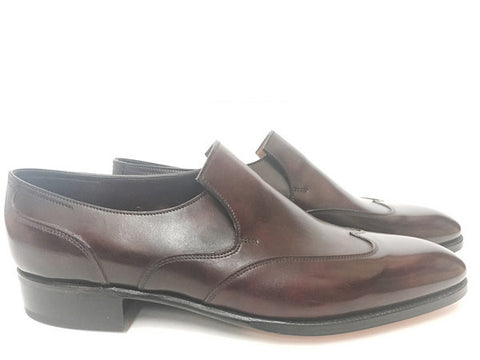 Warwick Loafer in Claret Misty Calf - 7000