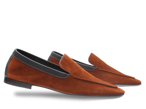 JL Lucca for Paul Smith in Auburn Suede