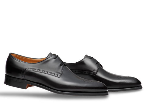 Chelmsford in Black Museum Calf - Size 10.5E