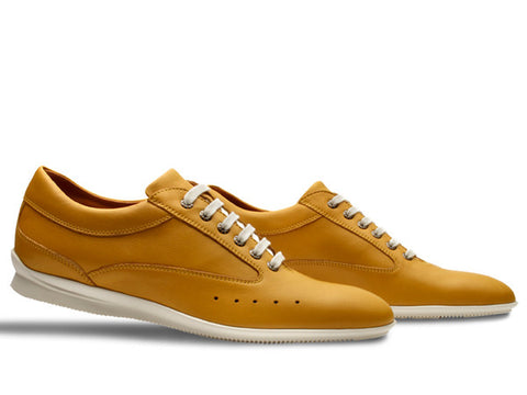 Winner Sport Shoes   - by John Lobb For Aston Martin - in Winter Wheat Sport Calf