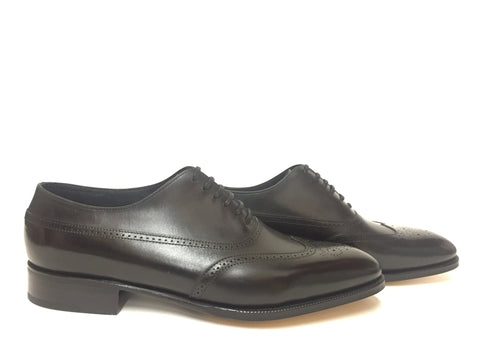 Cavendish in Black Oxford Calf - Size 10.5 & Size 11