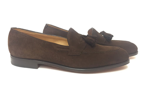 Truro in Dark Brown Suede - 4098