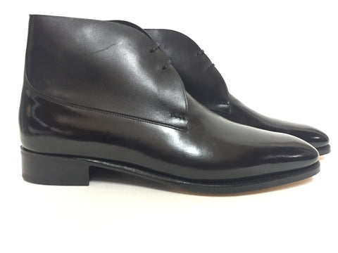 St Crépin 2012 in Black Misty Calf - Size 7000