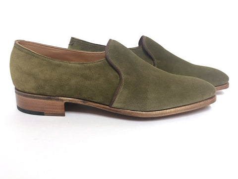 Edward in Khaki Suede - 7000