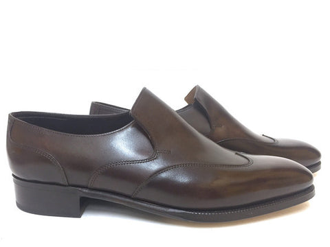 Warwick Loafer in Dark Brown Misty Calf