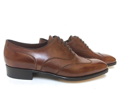 Warwick Oxford in Bracken Misty Calf - 7000