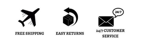 free shipping easy returns customer support